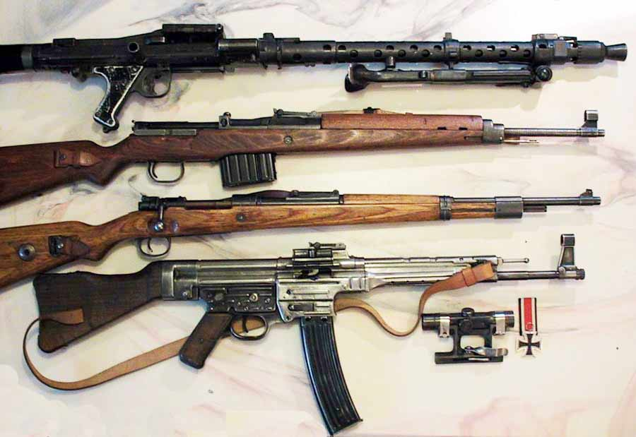 machine guns of ww2