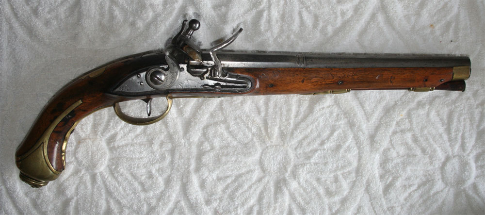 Original antique flint lock guns for sale - pistols