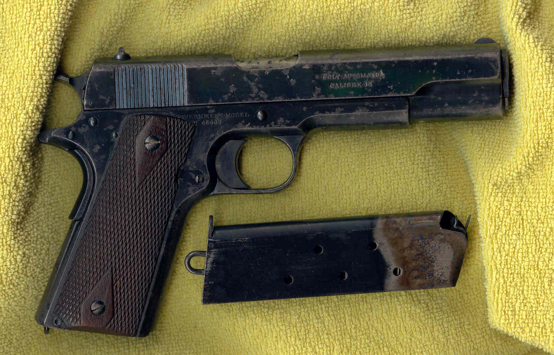 Colt 1911 original gjord 1913