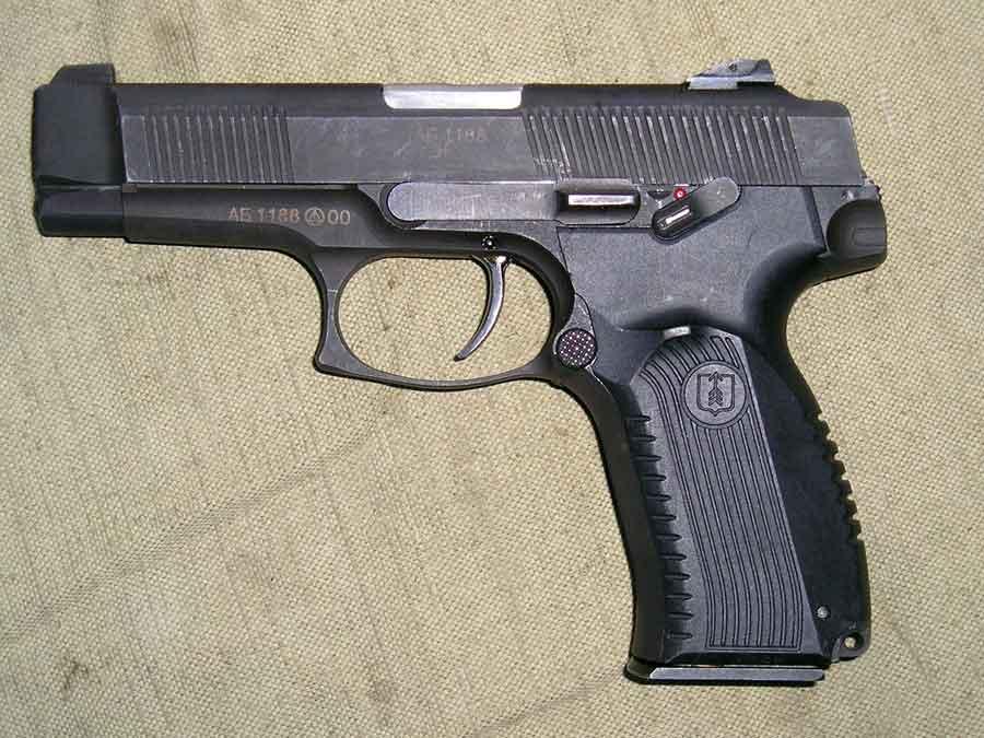 Уверен немногие знают. серийный пистолет Ярыгина ПЯ, вид слева